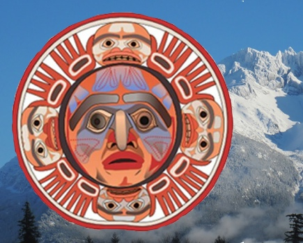 Nuxalk sun mountain scale